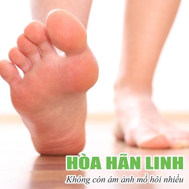 Tăng tiết mồ hôi bù trừ ở bàn chân sau khi cắt hạch giao cảm